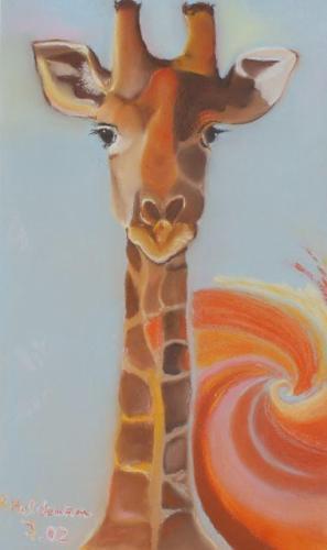 2002 Giraffenmädchen